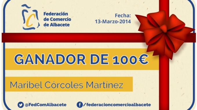 Ganador 100€ | Federación de Comercio de Albacete