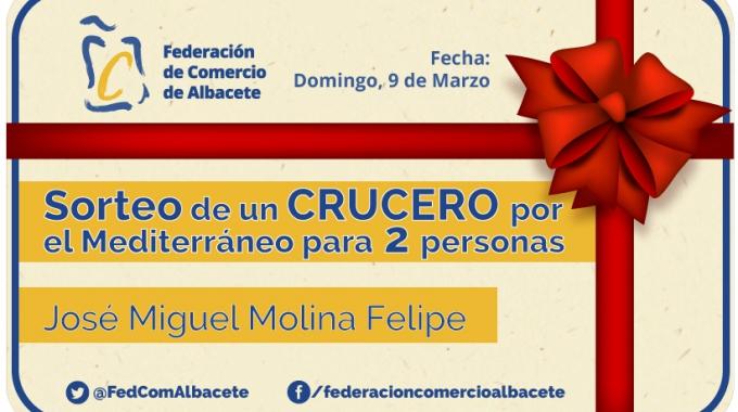 Ganador Crucero Mediterráneo | Federación de Comercio de Albacete