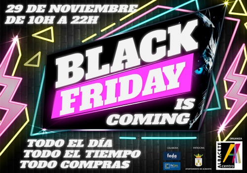 Celebración Black Friday 29 de noviembre